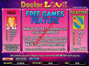 bonus Doctor Love
