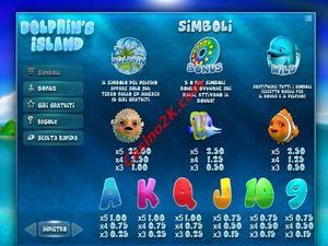 pagamenti Dolphin's Island