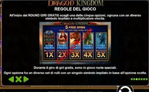 bonus Dragon Kingdom