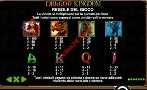 pagamenti Dragon Kingdom