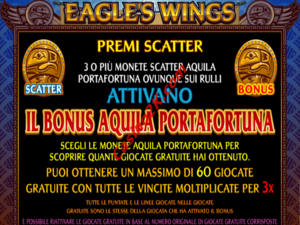 bonus Eagles Wings