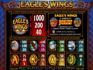 pagamenti Eagles Wings