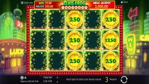 bonus Elvis Frog In Vegas