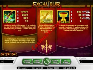 bonus Excalibur
