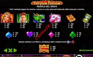 pagamenti Fairytale Fortune
