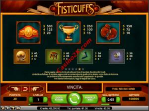 pagamenti Fisticuffs