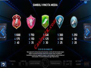 pagamenti Football Champions Cup