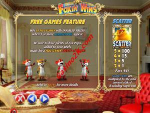 bonus Foxin Wins