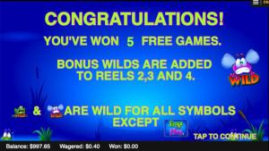 bonus Frogs and Flies
