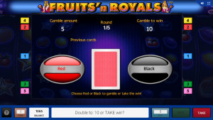 bonus Fruits and Royals