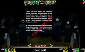 bonus Ghosts Night