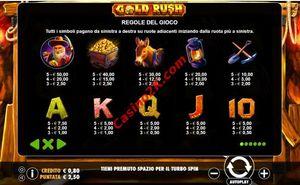 pagamenti Gold Rush