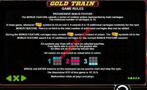 bonus Gold Train
