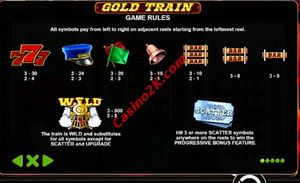 pagamenti Gold Train