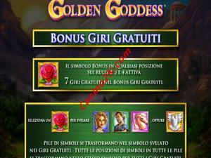 bonus Golden Goddess