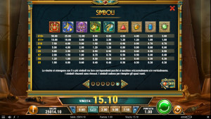pagamenti Golden Osiris