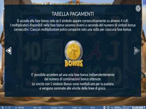 bonus Golden Sphinx