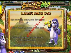 bonus Gorilla Go Wild