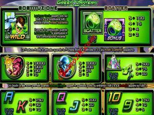 pagamenti Green Lantern