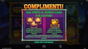 bonus Halloween Cash Pots