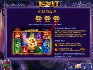 bonus Halloween Fortune 2