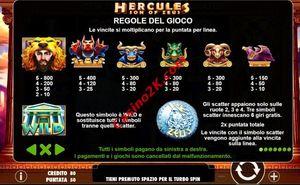 pagamenti Hercules Son of Zeus