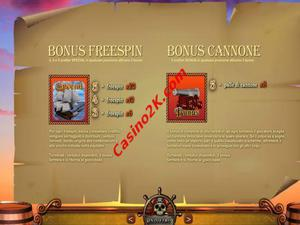 bonus I Pirati del Bounty