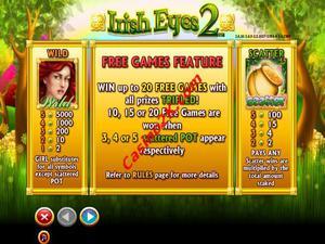 bonus Irish Eyes 2
