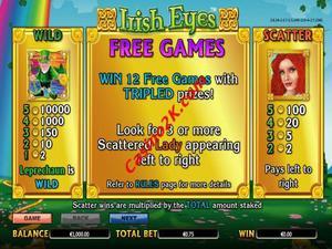 bonus Irish Eyes