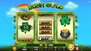 bonus Irish Gold