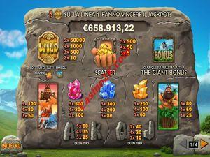 pagamenti Jackpot Giant