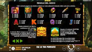 pagamenti John Hunter and the Mayan Gods