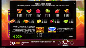 pagamenti Juicy Fruits