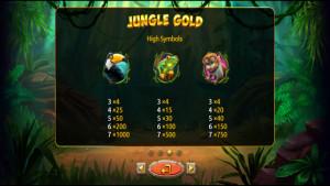 pagamenti Jungle Gold