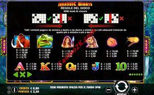 pagamenti Jurassic Giants