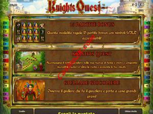 bonus Knights Quest