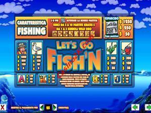 pagamenti Lets Go Fishing