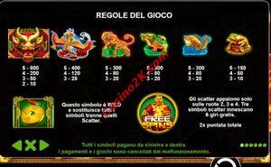 pagamenti Lucky Dragons