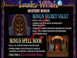 bonus Lucky Witch