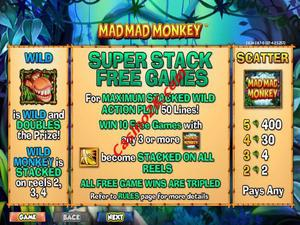bonus Mad Mad Monkey
