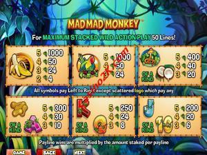 pagamenti Mad Mad Monkey