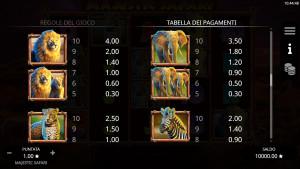 pagamenti Majestic Safari