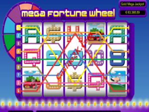 Mega Fortune Wheel