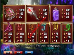 pagamenti Merlin's Millions