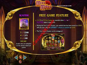 bonus Miss Midas