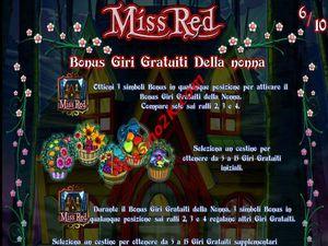bonus Miss Red