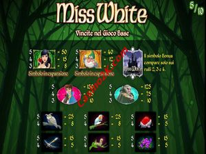 pagamenti Miss White