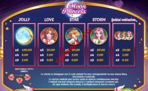 pagamenti Moon Princess