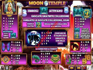 pagamenti Moon Temple