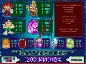 pagamenti Moonshine